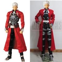 Fate Stay Night Archer Emiya Shirou Cosplay Costume Halloween Free Shipping