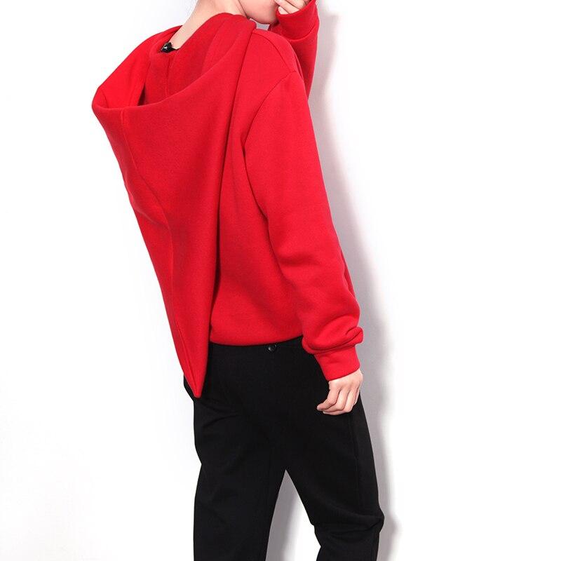 2017 Direct Selling Top Solid O neck Full Fun Witch Hat Sweatshirt Female Korean Students Loose Tide Hoodie Velvet 836 Set