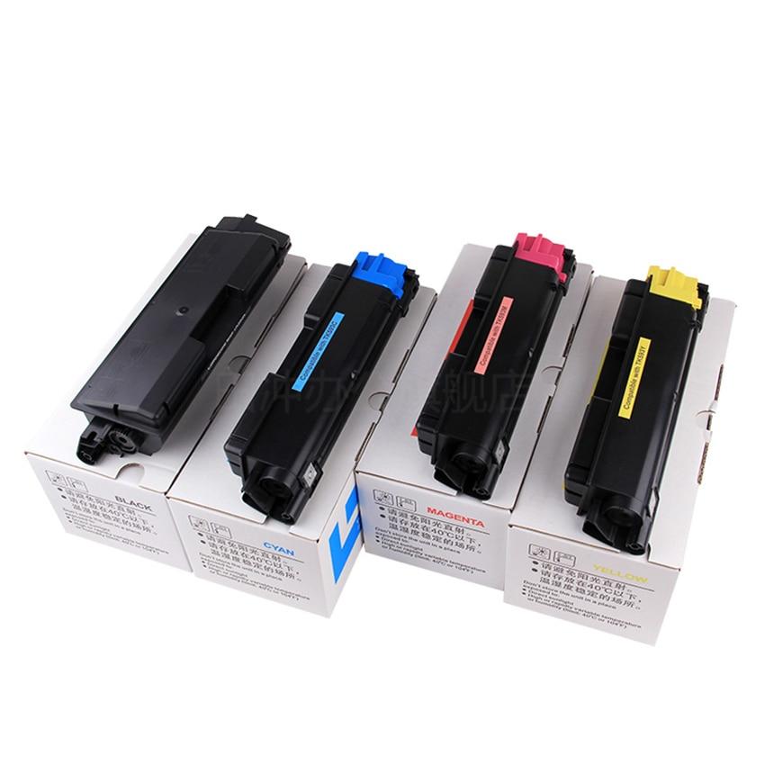 High Quality Toner Cartridge for Kyocera FS C2026MFP C2126MFP C2526MFP C2626MFP C5250DN 4X/Set bulk toner powder for ricoh spc220 ipsio spc301 printer for kyocera fs c1020 ipsio sp c301 toner powder for kyocera fs 1020
