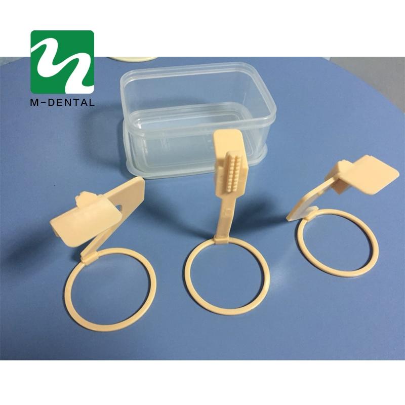 3 Teile / satz Dental Use Digital X Ray Film Sensor Stellungsregler Halter Dental Instrument Mit Box Für Zahnpflege