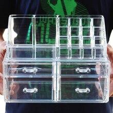 1 шт. новый прозрачный акриловый Корректоры для лица Макияж Карандаши Коробка Организатор Косметические Дисплей футляр для хранения ювелирных изделий