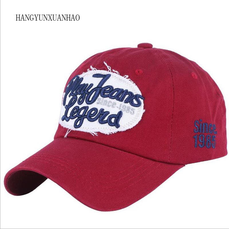 HANGYUNXUANHAO 2019 New Baseball Cap Men Casual Snapback Caps Letter Vintage Embroidery Gorras Female Fashion Girls Summer