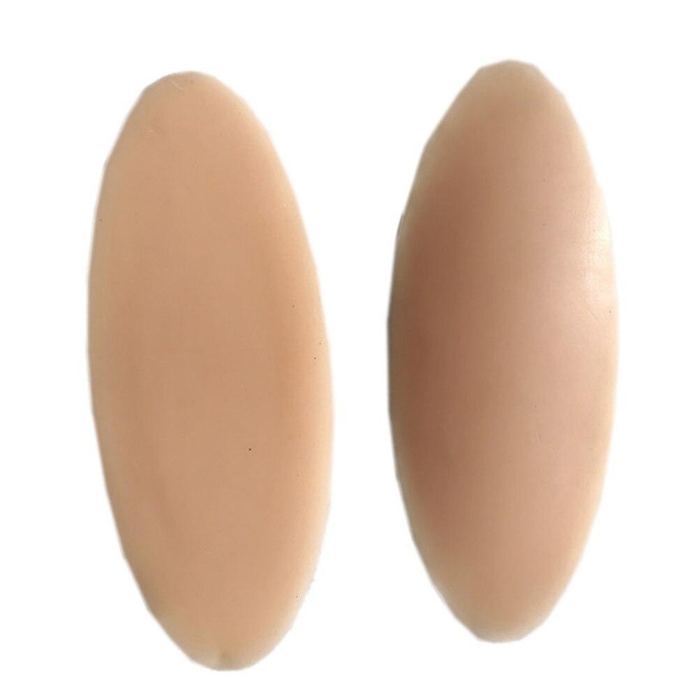 1 par almofada adesiva macio estiramento de silicone inodoro anti acessório alérgico visualmente mudar perna corrector onlays torto