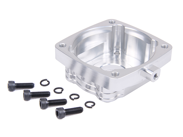 CNC alloy clutch mount for 29cc 30.5cc engine Zenoah CY RCMK fit FG 1/5 ROVAN KM FS HPI Baja 5B 5T 5SC LOSI 5IVE-T DBXL new product silent exhaust pipe for 1 5 hpi rovan km baja losi 5ive t parts