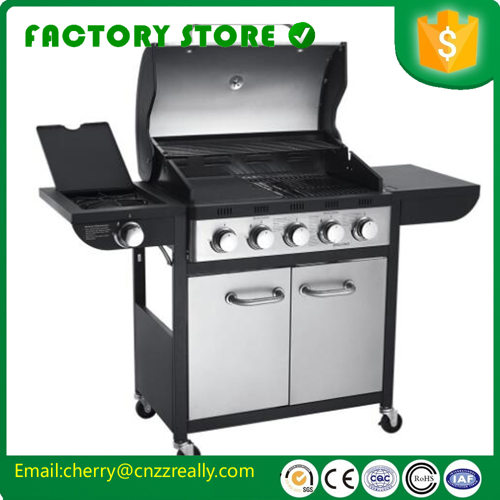 Florabest Bbq Stainless Steel Commercial Mini Tabletop Industrial Charcoal Grill