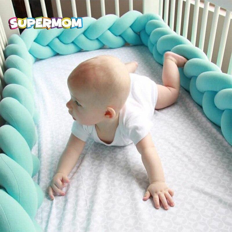 Nordic детская кровать бамперы детские кроватки протектор для новорожденных детей игрушки ткачество плюшевые кроватки Колыбель малыша Подуш... ...