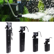 Aquarium Submersible Filter Pump Water Internal Fish Tank Pond 12 18 25 35W EU Plug increase