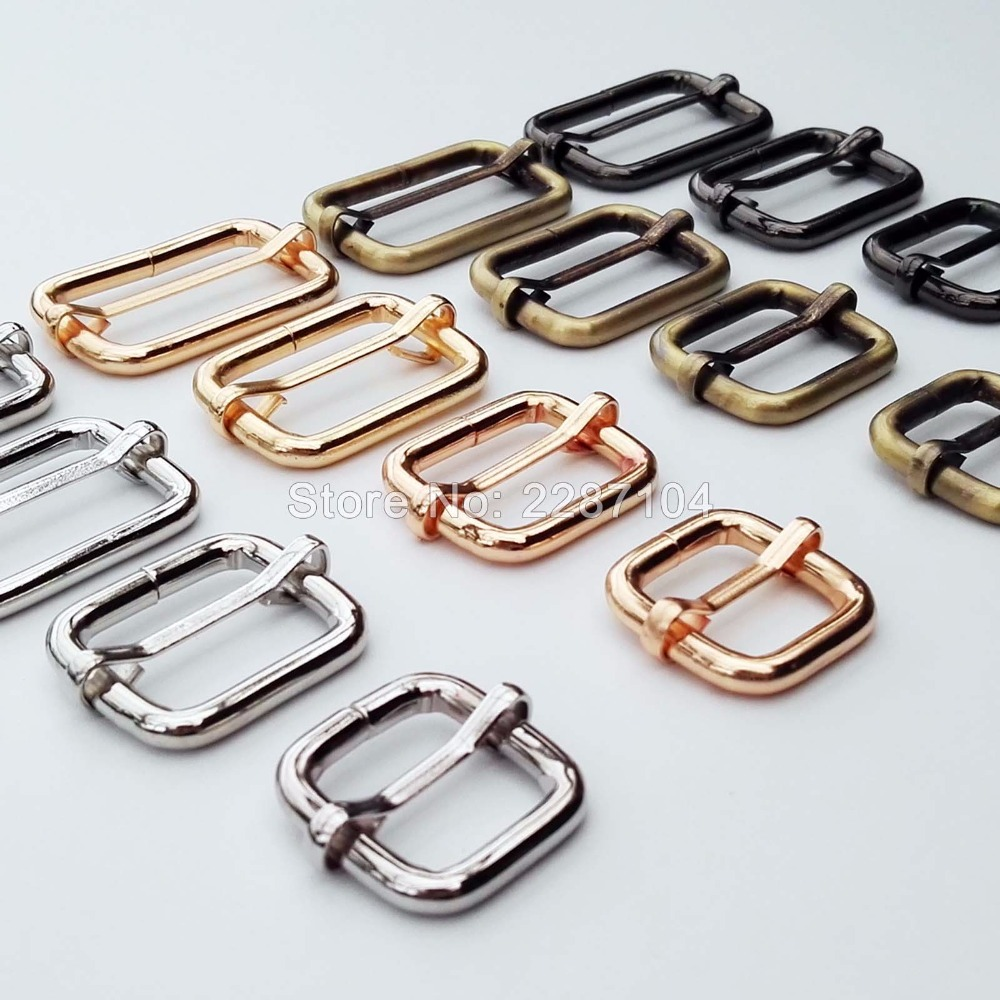 10pc Metal Strong Handbag Leather Bag Purse Strap Belt Rectangle O D Ring Buckle