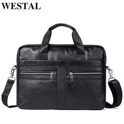WETSTAL Бизнес Портфели человек для юриста пояса из натуральной кожи сумка для мужчин сумки на плечо кожа ноутбук Мужские портфели 2019