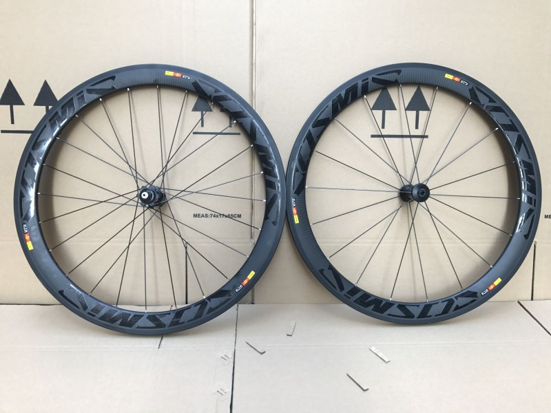 Carbon Clincher 700c 23MM Rims Cosmic Or SLR Carbon Road Wheels 38 Mm 50mm60 Mm Cosmic Bike Wheelset Bicycle