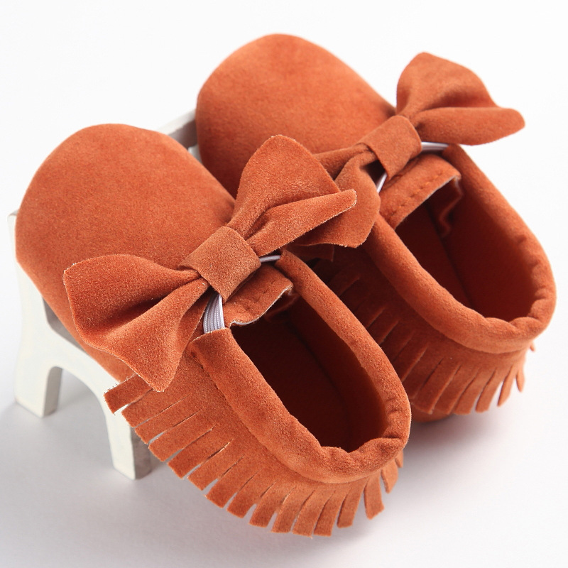 2019 Newborn Faux Leather Fleece Girls Baby Shoes Soft Bottom PU Leather Toddler First Walkers
