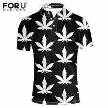 FORUDESIGNS Beiläufige Schwarze Kurzarm Polo Shirt Männer Neuheit Sommer  Männlichen Polos Bekleidung Brand Design Tops Polo 3bfdb86f27