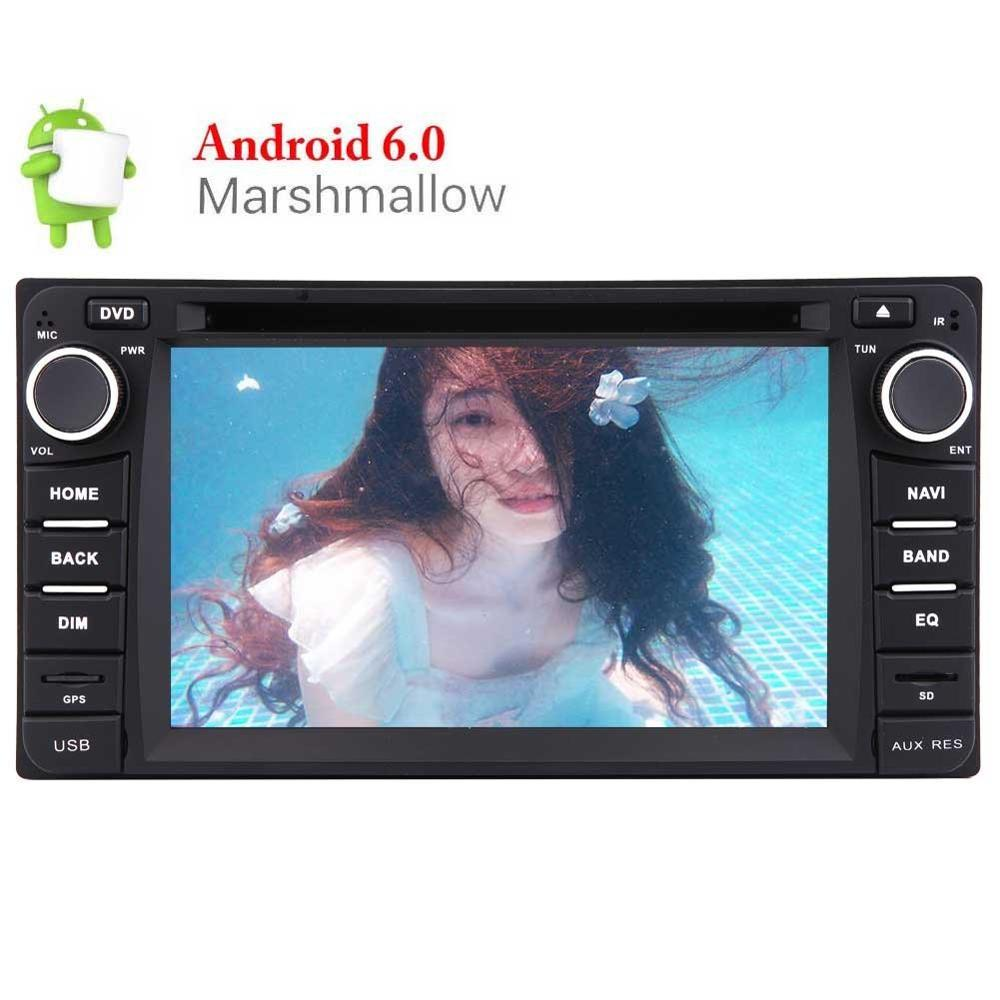 """Android 6.0 Marshmallow Car DVD Player for TOYOTA Corolla EX 6.2"""" Touch Screen Car Stereo with GPS Navigation In Dash Bluetooth"""
