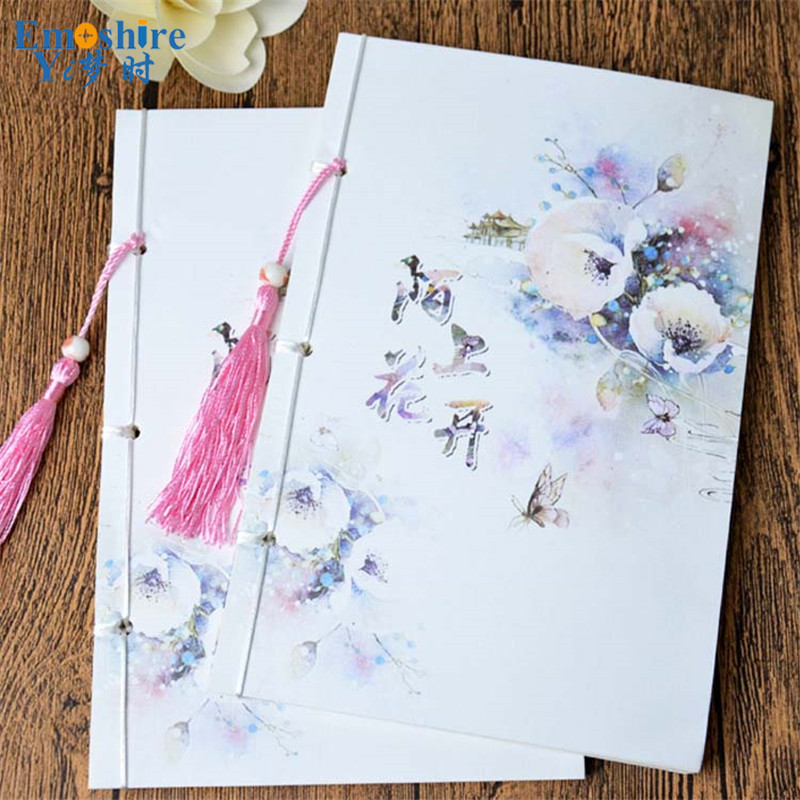 Thread-bound Edition Hot diary Notebook Surface Copy Soft Cover Creative Notepad Book Note book Office School Supplies Gift N045 pink flamingo theme lined notebook b5 note book school office gift free shipping