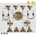 [Haotian vegetarian] imitation of Ming and Qing Dynasties Zhangmu Xiang Chinese copper fittings HTN-064 tri-color