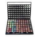 Maquiagem profissional 77 Full Color Shimmer Matte Eyeshadow Palette Cosméticos Smokey Sombra Pincel de Maquiagem Set Kit