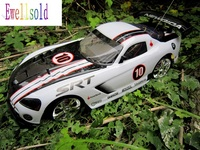 Car Accessories Radio Control Car 1 10 Painted PVC Body Shell 190mm 047 Free Shipping