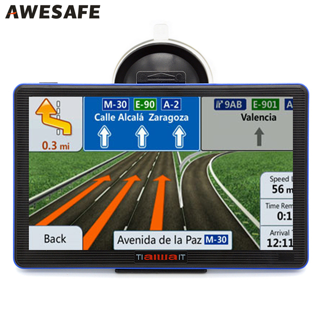 Hd  Inch Portable Car Gps Navigation Fm Gb M Mhz Car Navigator Map