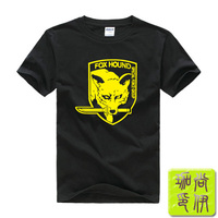 Metal Gear Pattern Solid Anime T Shirt Foxhound Metal Gear Fans T Shirt Ac03 New Arrival