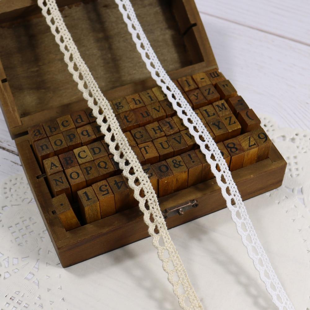 Хлопковая кружевная лента 11mmx50yards швейная лента, белый кружевное полотно, бобинетовое кружево обрезанная лента