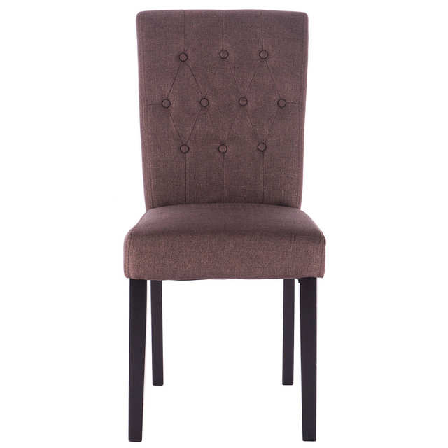 Swell Us 87 99 Giantex Set Of 2 Modern Dining Chair Fabric Armless Accent Tufted Upholstered With Solid Wood Legs Furniture Hw52778Bn On Aliexpress Gmtry Best Dining Table And Chair Ideas Images Gmtryco