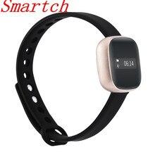 Smartch новые V8 умный Браслет Сенсорный экран Водонепроницаемый Смарт-часы Фитнес трекер шаг счетчика активности группа будильник