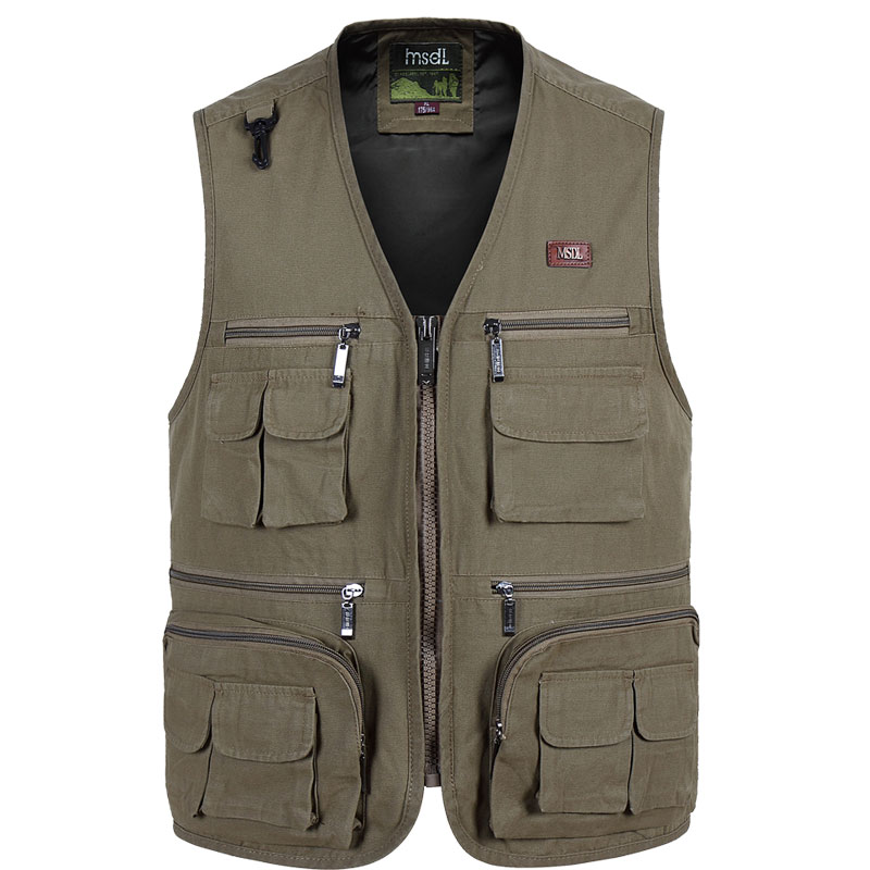 New Mens Photographer Vest Multi-Pockets photography Vests Shooting Waistcoat Vest Walking Travel Vest S-4XL ...