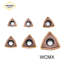 WCMX030208 WCMX040208 WCMX050308 WCMX06T308 WCMX080412 WCMT06T308 Carbide Inserts CNC Lathe Cutter for WC Type U Drill Bit tool wc38 114 c32 3d u drilll and high speed drill use wcmx06t308 inserts for boring machine