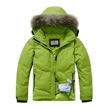 2020 New Arrival Winter Women Down Jacket 90%Down Raccoon Fu