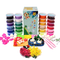 24pcs Suit Ultra Light Soft Malleable Fimo Polymer Modelling Clay Toys Air-dried Clay Blocks Toys DIY Polymer Clay  Plasticine