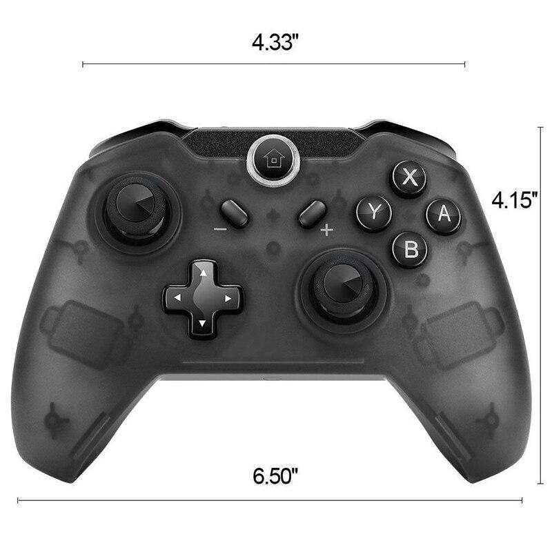 Senza Fili di Bluetooth Pro Controller Gamepad Joypad Remote per Nintend Switch di Console Gamepad Joystick