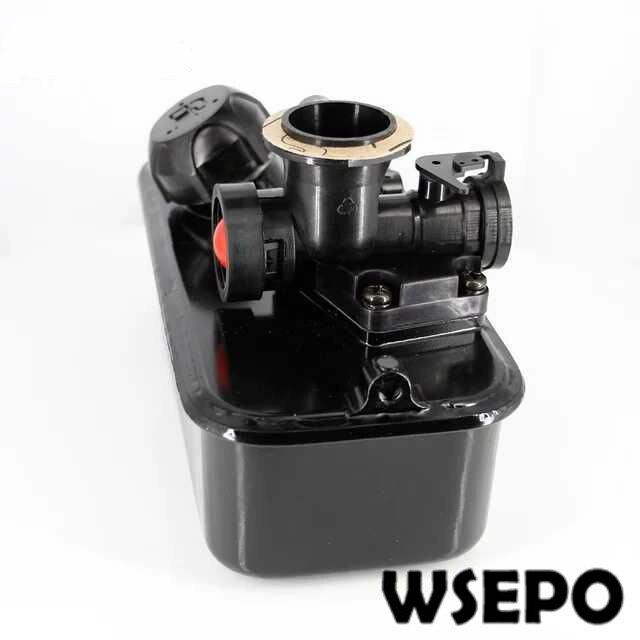 CQ Qualité! Carburateur/carburateur 1P64 avec pompe pressurisée pour tondeuse à gazon à moteur à arbre vertical/coupe gazon etc.