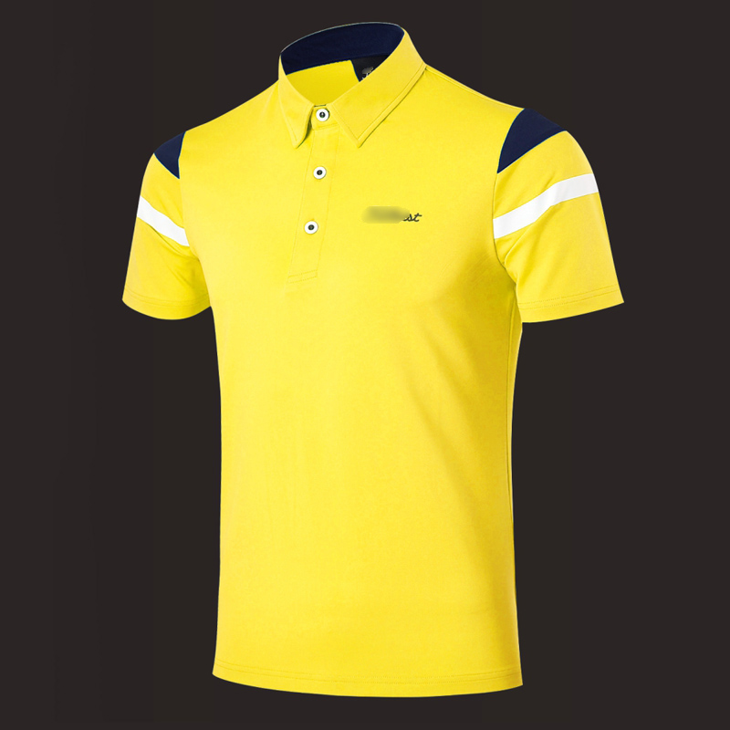 ФОТО 2017 New Golf clothing golf Shirt Short Sleeved men's clothing summer fast dry Free shipping W3214