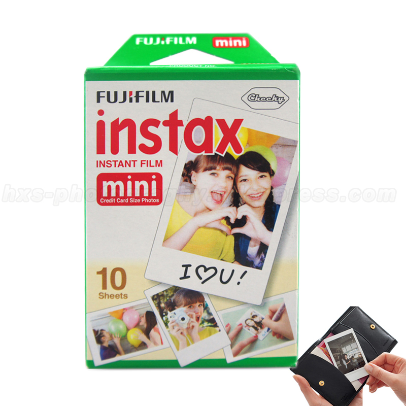 Оригинальный Пленка Fujifilm Instax Mini 8 Фотобумага Белый для полароид 7 S 25 8 50 s 90 фотоаппарат мгновенной печати