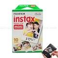 Original fujifilm instax mini 8 film 3 pulgadas de papel fotográfico blanco para 7 S 25 8 50 s 90 Instax Mini Cámara y COMPARTIR Impresora de Teléfonos Inteligentes