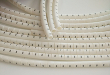 1000pcs/lot freeshipping  0.5 0.75 1.0 1.5 2.5 4.0 6.0 8.0mm2 white cable marker plum tubing 0-9 different number