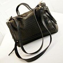 Inleela bigger than capacity retro large handbags messenger weave shoulder bags