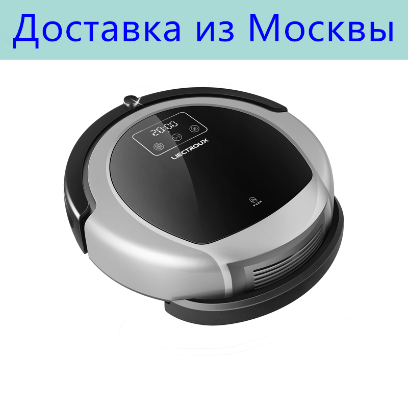 Free All LIECTROUX Robot Vacuum Cleaner B6009 2D Map Gyroscope Navigation UV Water Tank Smart