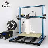 Upgrade Dual Z Rod Screws CR 10S 4S 5S 3d Printer kit i3,Metal Printer 3D Filament Monitoring Alarm,Large print Size 500*500*500
