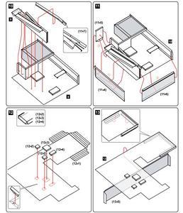 Image 5 - Papier typu kraft Model Le Corbusier willa Savoye 3D budynek architektoniczny DIY zabawki edukacyjne ręcznie puzzle dla dorosłych gry