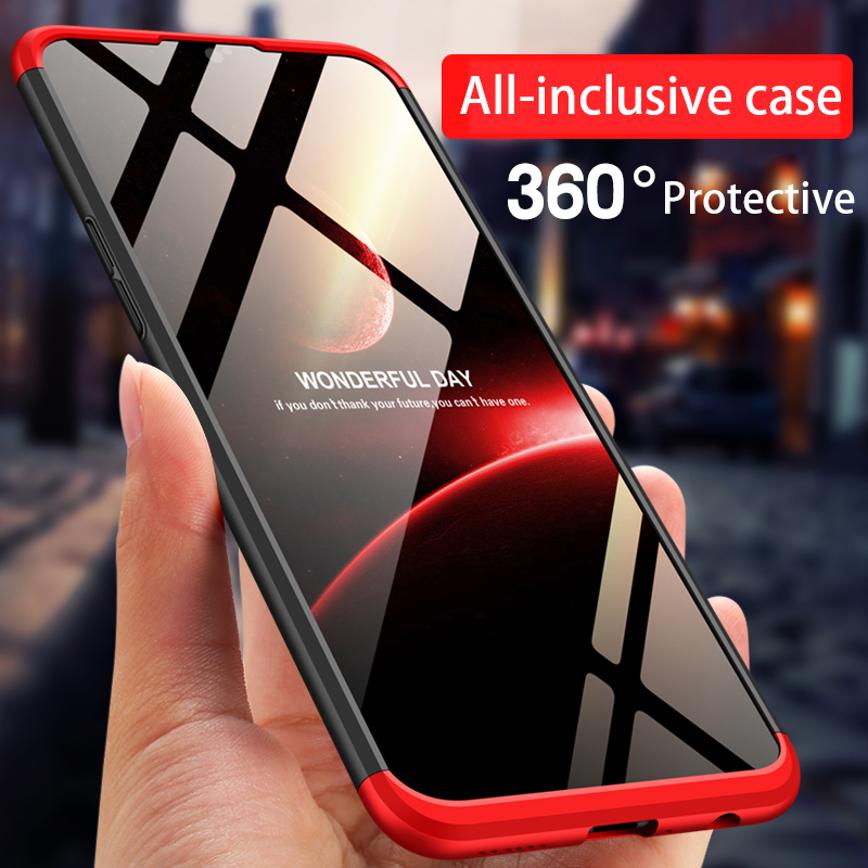 3 In 1 Phone Case For OPPO R11s Plus A3 A79 A73 F5 F7 Plus Find X Realme 1 Cover 360 Full Protection Fundas Cover Capa