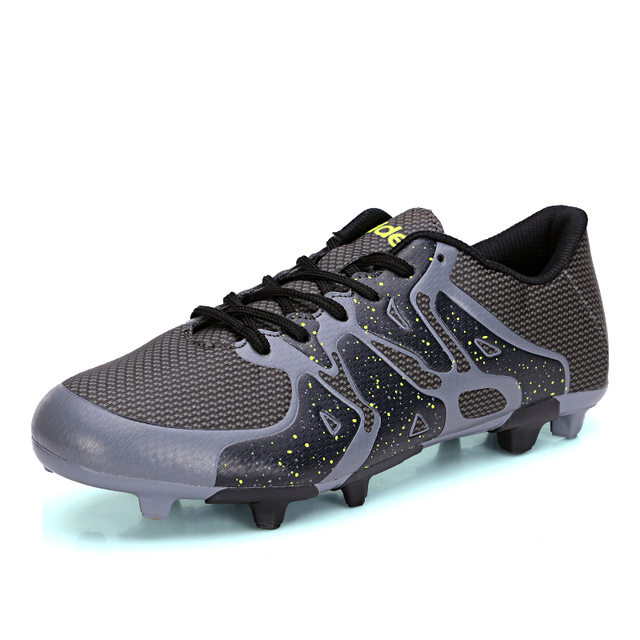 0afcd495719c8 الهواء شبكة تنفس رجل المهنية لاعب كرة القدم أحذية مريحة الفتيان الاطفال  مشرق الأحذية الطويلة الخاصة