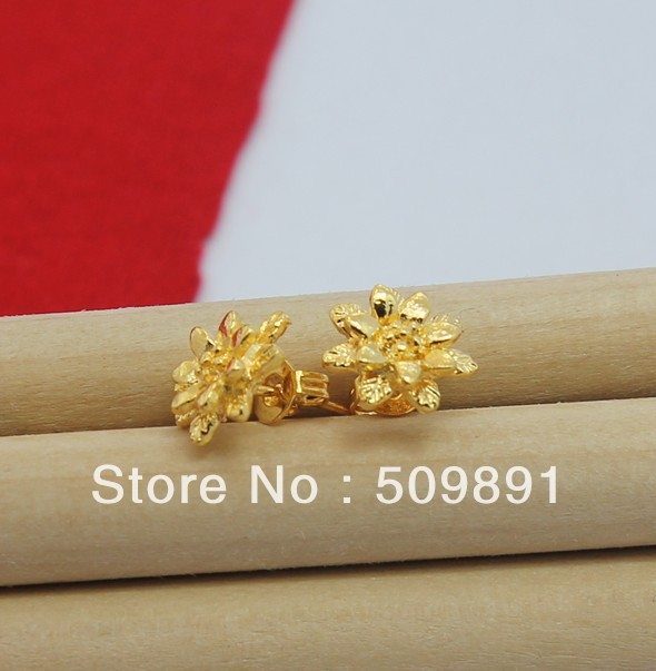 e512 big fashion 24 carat gold colou women jewelry chic gold