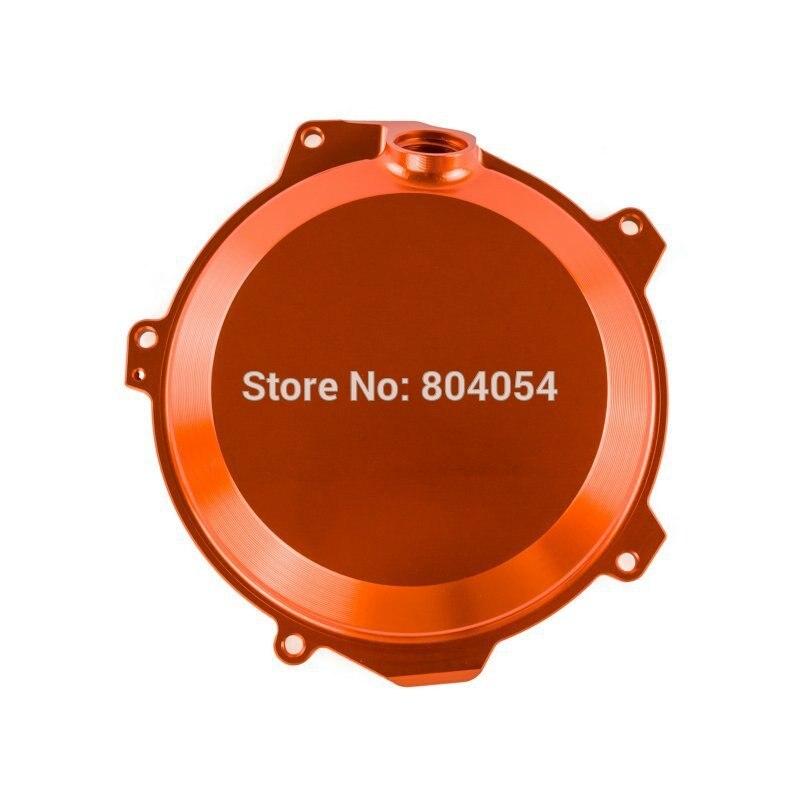 ФОТО Orange CNC Billet Engine Outside Clutch Cover For Husqvarna FC FE 205/350 2014 2015