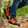 ZHJLUT hot men Climbing outdoor Trekking boots waterproof Breathable hiking boots Men's Winter Leather Boots 509