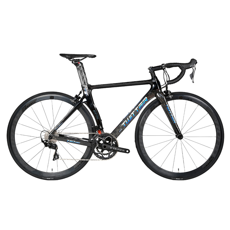 TWITTER Road Bike Bicycle Ultralight Carbon Road Bicycle 22 Speed For 105/ R7000/R8000 omponents