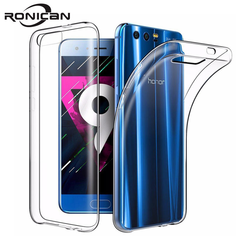 RONICAN For Huawei Honor 9 Case Silicone Cover Honor9 Slim Transparent Phone Protection Soft Shell For Huawei Honor 9 5.15