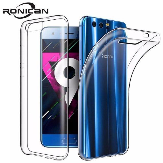 "RONICAN Huawei 社 honor 9 ケースシリコーンカバー honor 9 スリム透明電話保護ソフトシェル Huawei 社 honor 9 5.15"""