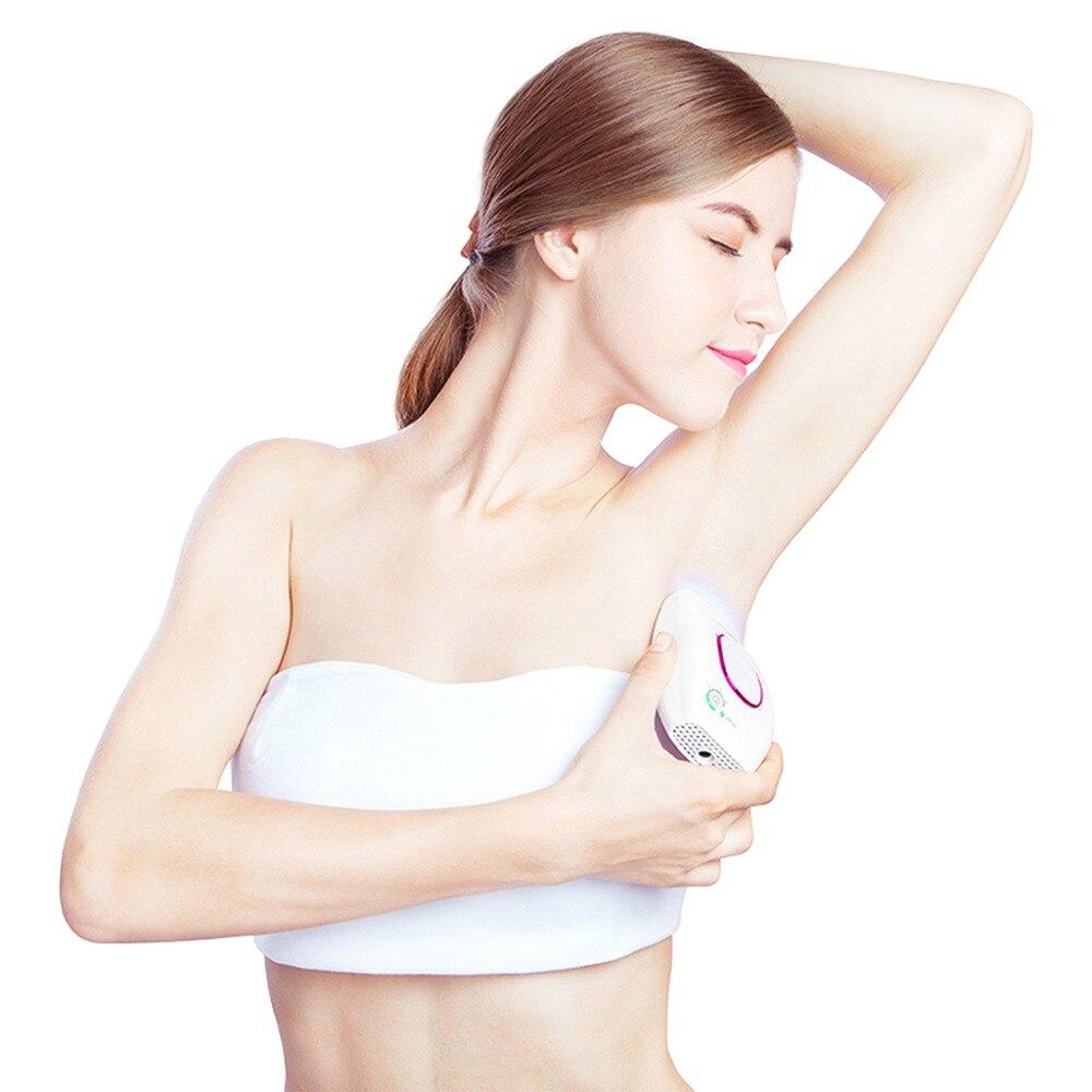 Портативный 100000 лазер IPL эпиляторы постоянный удаления волос машина 5 уровней интенсивности света уход за кожей лица и тела безболезненно Е...