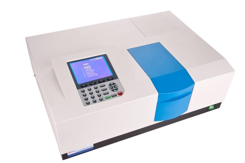 Double Beam UV VIS Spectrophotometer UV1901 320*240 LCD USB Export UV Visible Spectrophotometer